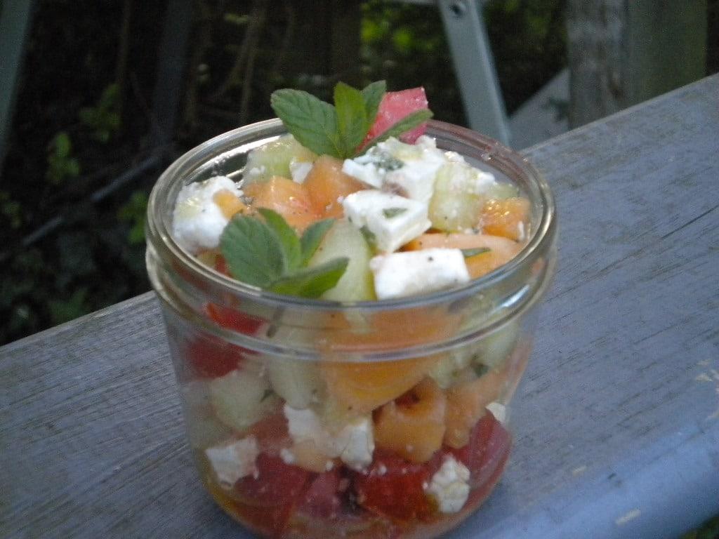 salade de melon à la féta